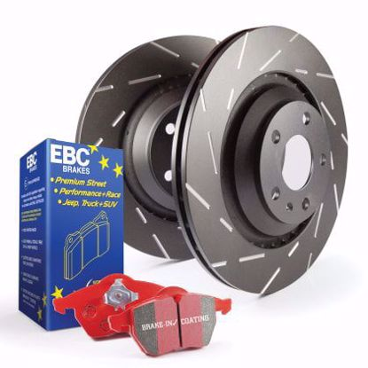 Picture of EBC STAGE 4 KITS REDSTUFF AND USR ROTORS