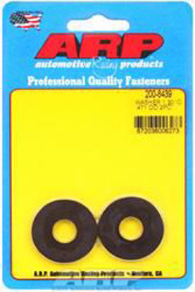 Picture of ARP .471 ID 1.30 OD no chamfer black washers