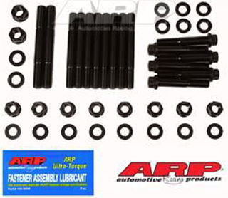 """Picture of ARP Little """"M"""" iron main caps 4-bolt splayed stud kit"""