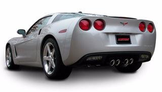 Picture of Corsa Exhaust Axle-Back For 2005-2008 Chevrolet Corvette C6  6.0L V8