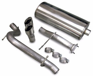 Picture of Corsa Exhaust Cat-Back For 2007-2008 Hummer H2   6.2L V8