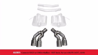 Picture of Corsa Exhaust Tip Kit For 2016-2017 Cadillac CTS V Sedan 6.2L V8