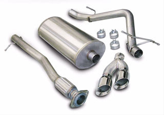 Picture of Corsa Exhaust Cat-Back For 2010-2010 GMC Sierra Denali 1500 Crew Cab/Short Bed 6.2L V8