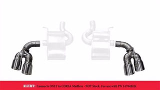 Picture of Corsa Exhaust Tip Kit For 2016-2017 Chevrolet Camaro SS  6.2L V8