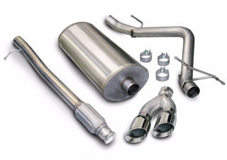 Picture of Corsa Exhaust Cat-Back For 2010-2013 GMC Sierra 1500 Crew Cab/Short Bed 5.3L V8