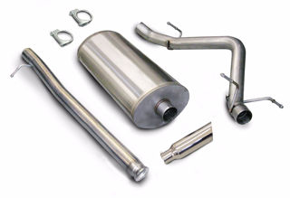 Picture of Corsa Exhaust Cat-Back For 2007-2008 GMC Sierra 1500 Regular Cab/Standard Bed 4.8L V8