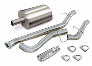 Picture of Corsa Exhaust Cat-Back For 1999-2006 GMC Sierra 1500 Extended Cab/Standard Bed 4.8L V8