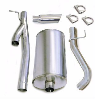 Picture of Corsa Exhaust Cat-Back For 2003-2006 GMC Sierra 2500 Crew Cab/Standard Bed 6.0L V8