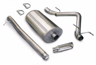 Picture of Corsa Exhaust Cat-Back For 2007-2009 GMC Sierra Denali 1500 Crew Cab/Short Bed 6.2L V8