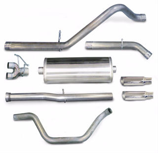 Picture of Corsa Exhaust Cat-Back For 2011-2013 GMC Sierra Denali 1500 Crew Cab/Short Bed 6.2L V8