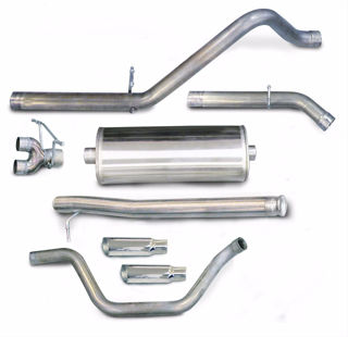 Picture of Corsa Exhaust Cat-Back For 2009-2009 GMC Sierra 1500 Crew Cab/Short Bed 4.8L V8