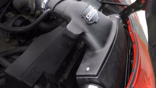 Picture of Corsa Air Intake Closed Box For 2008-2013 Chevrolet Corvette C6  6.2L V8