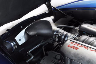 Picture of Corsa Air Intake Closed Box For 2005-2007 Chevrolet Corvette C6  6.0L V8