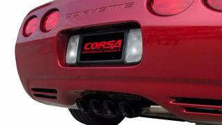 Picture of Corsa Exhaust Axle-Back For 1997-2004 Chevrolet Corvette C5  5.7L V8