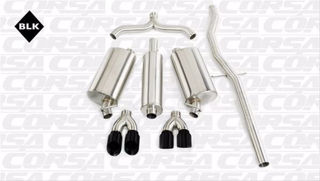 Picture of Corsa Exhaust Cat-Back For 1998-2004 Cadillac Seville SLS  4.6L