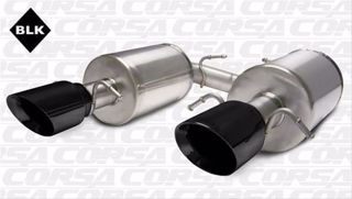 Picture of Corsa Exhaust Axle-Back For 2005-2007 Cadillac STS   4.6L