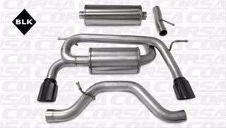 Picture of Corsa Exhaust Cat-Back For 2006-2008 Hummer H3   3.5L V6
