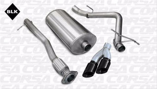 Picture of Corsa Exhaust Cat-Back For 2007-2008 GMC Sierra 1500 Crew Cab/Short Bed 4.8L V8