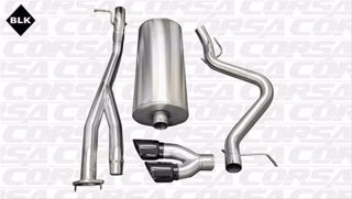 Picture of Corsa Exhaust Cat-Back For 2003-2007 Chevrolet Silverado SS Extended Cab/Standard Bed 6.0L V8