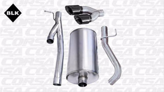 Picture of Corsa Exhaust Cat-Back For 2003-2006 GMC Sierra 2500 Extended Cab/Short Bed 6.0L V8