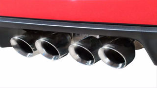 Picture of Corsa Exhaust Cat-Back For 2005-2008 Chevrolet Corvette C6  6.0L V8