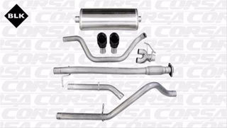 Picture of Corsa Exhaust Cat-Back For 2010-2010 GMC Sierra Denali 1500 Extended Cab/Standard Bed 6.2L V8