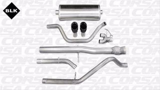 Picture of Corsa Exhaust Cat-Back For 2011-2013 GMC Sierra Denali 1500 Extended Cab/Standard Bed 6.2L V8