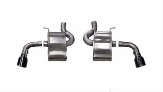 Picture of Corsa Exhaust Axle-Back For 2016-2018 Chevrolet Camaro SS Convertible 6.2L V8