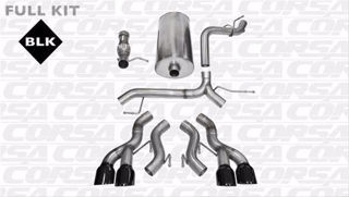 Picture of Corsa Exhaust Cat-Back For 2012-2014 Cadillac Escalade DUB ESV  6.2L V8