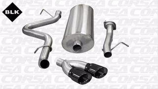 Picture of Corsa Exhaust Cat-Back For 2007-2010 GMC Sierra 2500 Extended Cab/Long Bed 6.0L V8