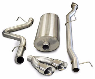 Picture of Corsa Exhaust Cat-Back For 2007-2010 GMC Sierra 2500 Crew Cab/Long Bed 6.0L V8