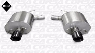 Picture of Corsa Exhaust Axle-Back For 2009-2014 Cadillac CTS V Sedan 6.2L V8