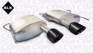 Picture of Corsa Exhaust Axle-Back For 2011-2015 Cadillac CTS V Coupe 6.2L V8