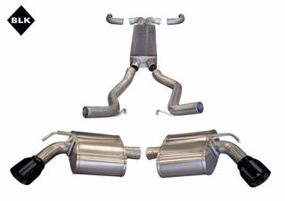 Picture of Corsa Exhaust Cat-Back + X-Pipe For 2011-2013 Chevrolet Camaro SS Convertible 6.2L V8