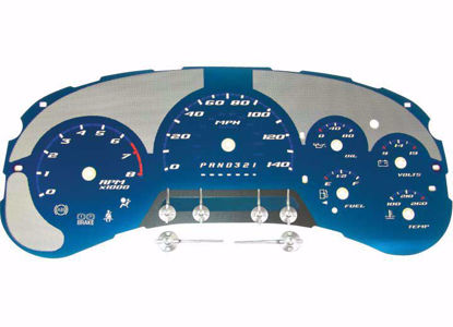 Picture of US Speedo Custom Aqua Gauge Face for 06-09 Trailblazer