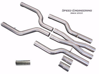Picture of Speed Engineering X-Pipe Kit for 2016-19 Cadillac CTS-V