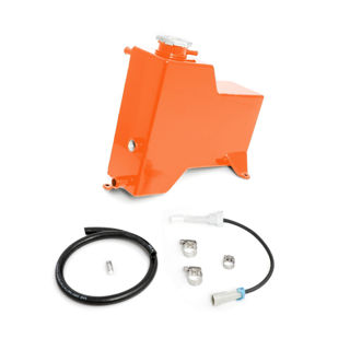 Picture of 2015-2016 Chevrolet / GMC Factory Replacement Coolant Tank Orange HSP Diesel