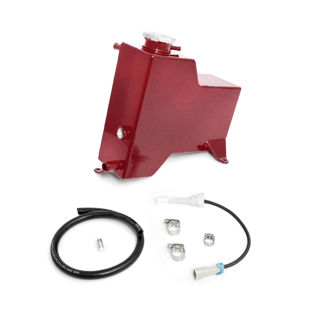 Picture of 2015-2016 Chevrolet / GMC Factory Replacement Coolant Tank Candy Red HSP Diesel