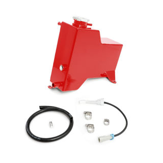 Picture of 2015-2016 Chevrolet / GMC Factory Replacement Coolant Tank Blood Red HSP Diesel