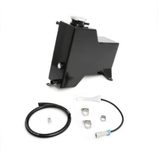 Picture of 2011-2014 Chevrolet / GMC Factory Replacement Coolant Tank Satin Black HSP Diesel