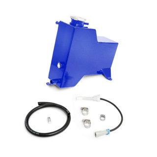 Picture of 2011-2014 Chevrolet / GMC Factory Replacement Coolant Tank Candy Blue HSP Diesel