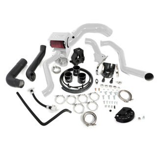 Picture of 2013-2016 Chevrolet / GMC S400 Single Install Kit No Turbo White HSP Diesel