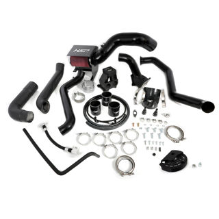 Picture of 2013-2016 Chevrolet / GMC S400 Single Install Kit No Turbo Satin Black HSP Diesel