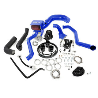 Picture of 2013-2016 Chevrolet / GMC S400 Single Install Kit No Turbo Candy Blue HSP Diesel