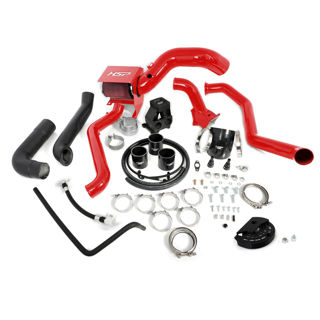 Picture of 2013-2016 Chevrolet / GMC S400 Single Install Kit No Turbo Blood Red HSP Diesel