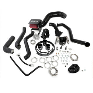 Picture of 2011-2012 Chevrolet / GMC S400 Single Install Kit No Turbo Satin Black HSP Diesel