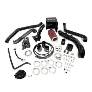 Picture of 2013-2016 Chevrolet / GMC S300 Single Install Kit No Turbo Gloss Black HSP Diesel