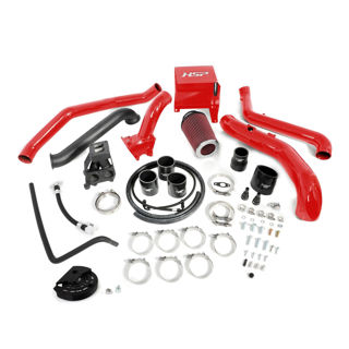 Picture of 2013-2016 Chevrolet / GMC S300 Single Install Kit No Turbo Blood Red HSP Diesel