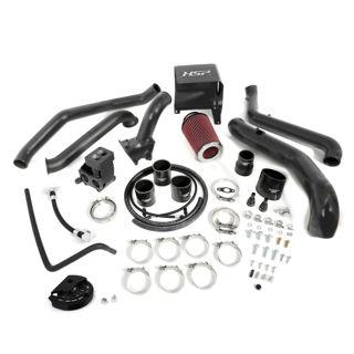 Picture of 2011-2012 Chevrolet / GMC S300 Single Install Kit No Turbo Satin Black HSP Diesel