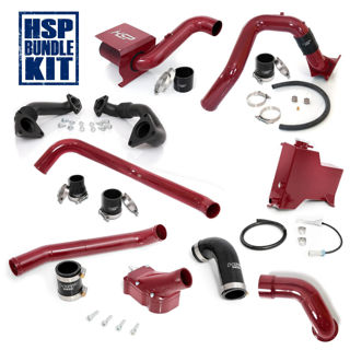 Picture of 2007.5-2010 Chevrolet / GMC Deluxe Max Air Flow Bundle Candy Red HSP Diesel